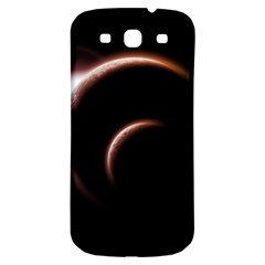 Planet Space Abstract Samsung Galaxy S3 S III Classic Hardshell Back Case