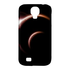 Planet Space Abstract Samsung Galaxy S4 Classic Hardshell Case (pc+silicone)