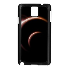 Planet Space Abstract Samsung Galaxy Note 3 N9005 Case (Black)