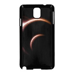 Planet Space Abstract Samsung Galaxy Note 3 Neo Hardshell Case (black)