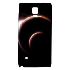 Planet Space Abstract Galaxy Note 4 Back Case