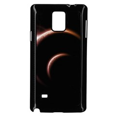Planet Space Abstract Samsung Galaxy Note 4 Case (black)