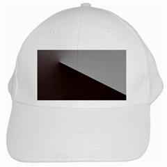 Course Gradient Color Pattern White Cap