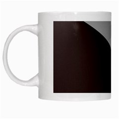 Course Gradient Color Pattern White Mugs