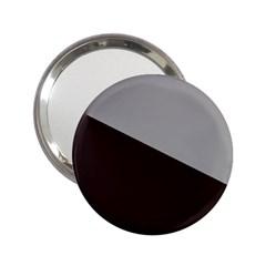 Course Gradient Color Pattern 2.25  Handbag Mirrors