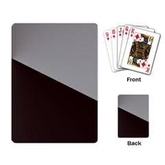 Course Gradient Color Pattern Playing Card