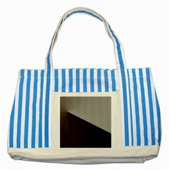Course Gradient Color Pattern Striped Blue Tote Bag