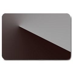 Course Gradient Color Pattern Large Doormat