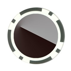 Course Gradient Color Pattern Poker Chip Card Guard
