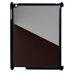 Course Gradient Color Pattern Apple Ipad 2 Case (black)