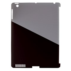 Course Gradient Color Pattern Apple Ipad 3/4 Hardshell Case (compatible With Smart Cover)
