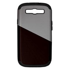 Course Gradient Color Pattern Samsung Galaxy S Iii Hardshell Case (pc+silicone)