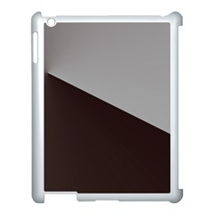 Course Gradient Color Pattern Apple iPad 3/4 Case (White)