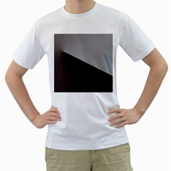 Course Gradient Color Pattern Men s T Shirt (white)