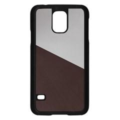 Course Gradient Color Pattern Samsung Galaxy S5 Case (Black)