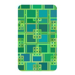Green Abstract Geometric Memory Card Reader