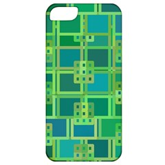 Green Abstract Geometric Apple Iphone 5 Classic Hardshell Case