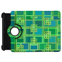 Green Abstract Geometric Kindle Fire Hd 7