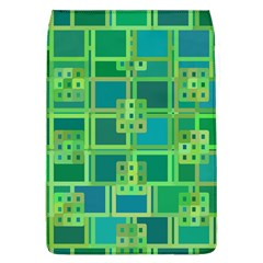Green Abstract Geometric Flap Covers (l)
