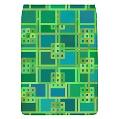 Green Abstract Geometric Flap Covers (s)