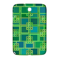 Green Abstract Geometric Samsung Galaxy Note 8 0 N5100 Hardshell Case