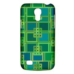 Green Abstract Geometric Galaxy S4 Mini