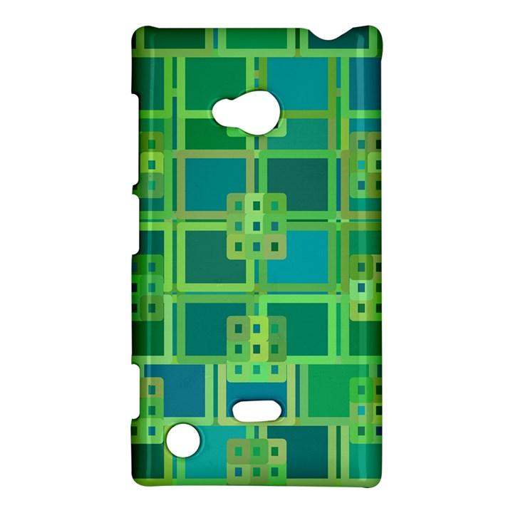 Green Abstract Geometric Nokia Lumia 720
