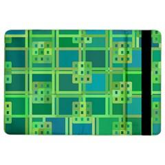 Green Abstract Geometric Ipad Air 2 Flip