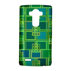 Green Abstract Geometric LG G4 Hardshell Case