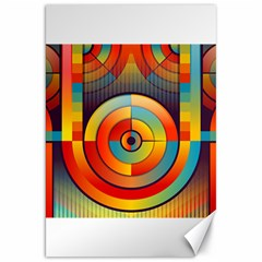 Abstract Pattern Background Canvas 20  x 30