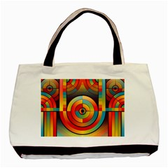 Abstract Pattern Background Basic Tote Bag (two Sides)