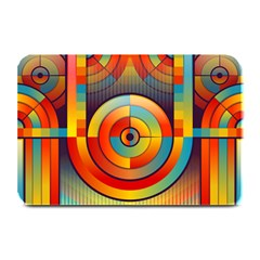 Abstract Pattern Background Plate Mats