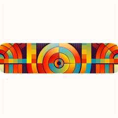 Abstract Pattern Background Large Bar Mats