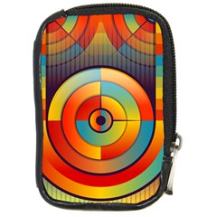 Abstract Pattern Background Compact Camera Cases