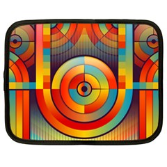 Abstract Pattern Background Netbook Case (XXL)