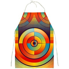 Abstract Pattern Background Full Print Aprons
