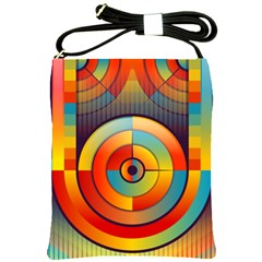 Abstract Pattern Background Shoulder Sling Bags