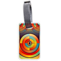 Abstract Pattern Background Luggage Tags (Two Sides)