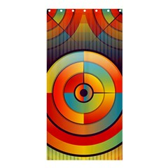 Abstract Pattern Background Shower Curtain 36  x 72  (Stall)