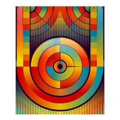 Abstract Pattern Background Shower Curtain 60  X 72  (medium)