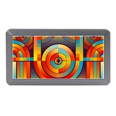 Abstract Pattern Background Memory Card Reader (mini)