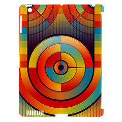 Abstract Pattern Background Apple Ipad 3/4 Hardshell Case (compatible With Smart Cover)