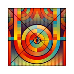 Abstract Pattern Background Acrylic Tangram Puzzle (6  X 6 )