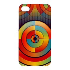 Abstract Pattern Background Apple Iphone 4/4s Premium Hardshell Case