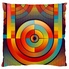 Abstract Pattern Background Large Cushion Case (one Side)