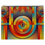Abstract Pattern Background Cosmetic Bag (XXXL)  Front
