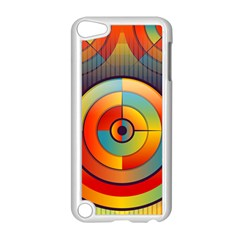 Abstract Pattern Background Apple Ipod Touch 5 Case (white)