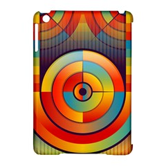 Abstract Pattern Background Apple iPad Mini Hardshell Case (Compatible with Smart Cover)