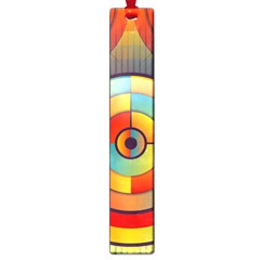 Abstract Pattern Background Large Book Marks
