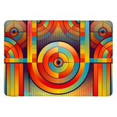Abstract Pattern Background Samsung Galaxy Tab 8 9  P7300 Flip Case